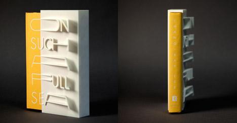 Eerste boekomslag in 3D