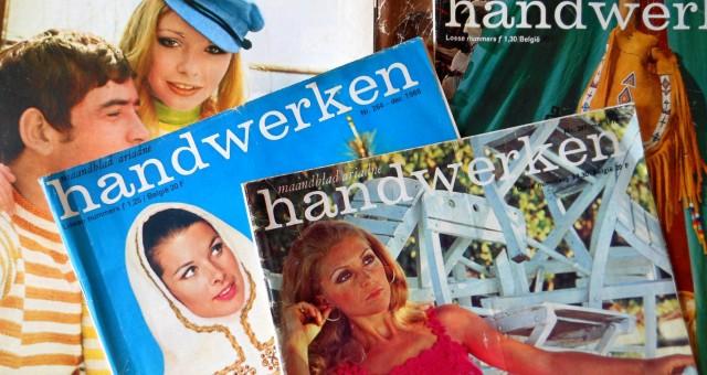 Oude tijdschriften Ariadne Handwerken