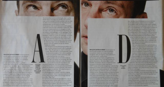 Déjà vu in Volkrant Magazine